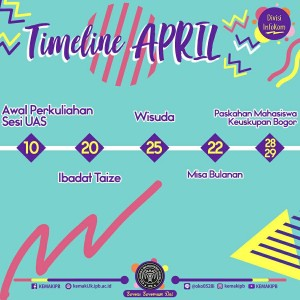 revisi timeline april